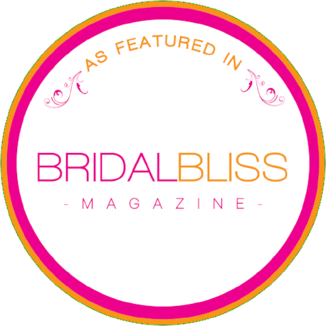 As seen in Bridal Bliss Magazine