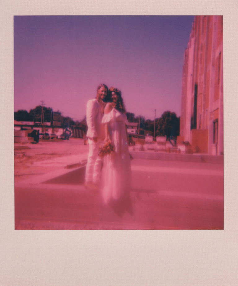 Make it an Adventure with a Polaroid Wedding